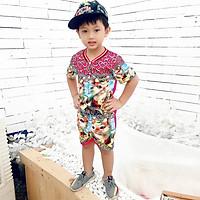 Set đồ bộ quần áo trẻ em in hình 3D thỏ Slim siêu dễ thương - Độ tuổi 1 - 10 - AK001