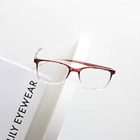 Gọng kính Nam Nữ Lilyeyewear mắt Vuông nhựa cứng cáp đeo Giả cận màu sắc Thời trang C0002