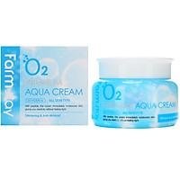 Kem Dưỡng Ẩm Chống Lão Hóa Farmstay O2 Premiun Aqua Cream  100g – Hàng Chính Hãng