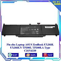 Pin cho Laptop ASUS ZenBook UX303L UX303LN TP300L TP300LA Type C31N1339 - Hàng Nhập Khẩu