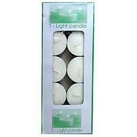 Nến tealight trắng hộp 10 viên không mùi