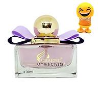 Nước hoa Nữ Charme Omnia Crystal 30ml - Tặng Kèm Thú Nhún Mặt Cười Siêu Dễ Thương