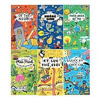 Bách Khoa Thư Larousse ( bộ 6 tập ) + tặng 1 cuốn truyện song ngữ anh việt( bìa mềm) ngẫu nhiên