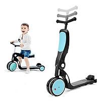 Xe đa năng trượt Scooter xe cân bằng xe đẩy cho bé 5 trong 1 Broller HD200