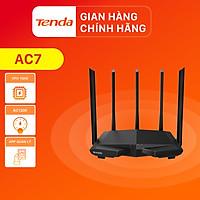 Thiết bị phát Wifi Tenda AC7 Chuẩn AC 1200Mbps - Hàng Chính Hãng