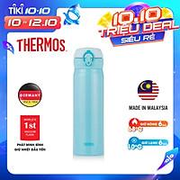 Bình giữ nhiệt Nhật Bản inox Thermos nút bấm 500ml JNL 502 SBR (JNL - 500/2) - Hàng chính hãng