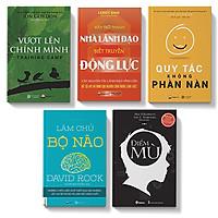 Bộ sách 5 cuốn:Làm chủ bộ não, Vượt lên chính mình, Quy tắc không phàn nàn, Hãy là nhà lã