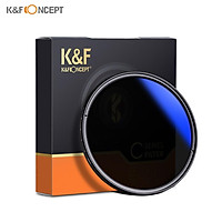 K&F CONCEPT 82mm Ultrathin Variable ND Filter ND2 to ND400 Adjustable Neutral Density Filter Compatible with Canon EF
