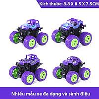 Xe ô tô đồ chơi cho bé trai, xe địa hình bánh đà cho trẻ em nhào lộn 360 độ chạy đà cực mạnh bằng nhựa nguyên sinh ABS – DC054