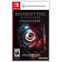 Đĩa game Resident Evil Revelations Collection cho máy Switch