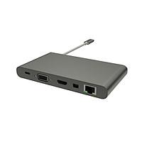 Bộ Chuyển Đổi Hyperdrive Ultimate USB-C Hub For MacBook Pro 2016/2017 – Hàng Nhập Khẩu