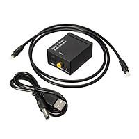 Bộ chuyển đổi Cổng quang Optical sang Audio AV - R/L, Hỗ Trợ Tv 4k Loại Xịn