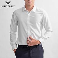 Áo sơ mi nam dài tay White Lotus Aristino ALSR10