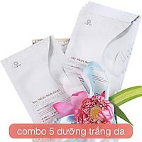 COMBO 5 mặt nạ dưỡng trắng_Cana Brightening