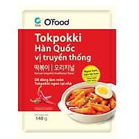 [Chỉ Giao HCM] - Big C - Tokpokki gói O'Food vị truyền thống 140g - 00158