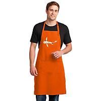 Tạp Dề Làm Bếp In Hình Những Chú Cá Nhiều Màu Sắc - Mẫu009