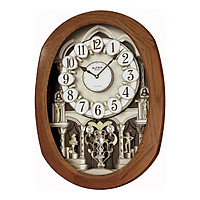 Đồng hồ treo tường RHYTHM 4MH810WD06 (Nâu)