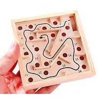 Đồ chơi thông minh trí tuệ - Mê cung gỗ (11.5x11.5x2.5cm)