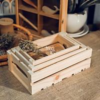 Bộ 3 khay gỗ pallet đa năng - Két gỗ pallet