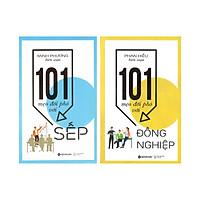 Combo Sách Kỹ Năng Làm Việc Công Sở: 101 Mẹo Đối Phó Với Sếp + 101 Mẹo Đối Phó Với Đồng Nghiệp