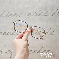 Gọng kính cận kim loại nam nữ Lilyeyewear mắt vuông màu sắc thời trang phù hợp nhiều 72371