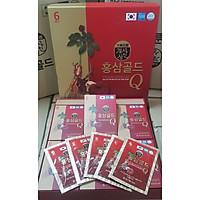 Nước Hồng Sâm Nhung Huơu Hàn Quốc Gold Q (50 ml * 30 gói)