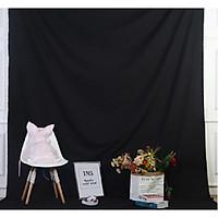 Phông vải đơn sắc màu đen 2.9x3m