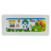 Hộp Bút ABC HB-013 (Hình Mèo) - Thân Dưới Hộp Màu Cam