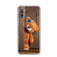 Ốp lưng điện thoại VSMART ACTIVE 3 - Silicon dẻo - 0136 TEDDY - Hàng Chính Hãng