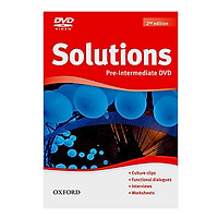 Solutions (2E) Pre-Intermediate DVD-ROM
