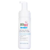 Sữa Rửa Mặt Tạo Bọt Kháng Khuẩn, hỗ trợ Trị Mụn pH5.5 Sebamed Clear Face Antibacterial Cleansing Foam SCF01B (50ml)