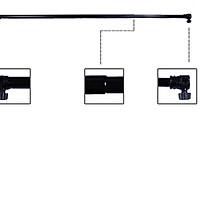 Thanh ngang treo phông 1,2m-3.2m