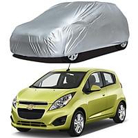 Bạt Phủ xe Ô Tô Chevrolet Spark, Spark Van, Bạt Trùm Xe Hơi Chắn Nắng Chất Vải Dù Siêu Bền Chống Mưa Nắng Bảo Vệ xe