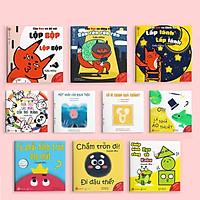 Combo 10 Cuốn Ehon Nhật Bản (Âm Thanh + Hình Khối + Màu Sắc /Tặng Cuốn Những Câu Chuyện Kinh Điển)