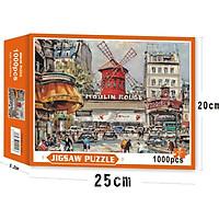 Bộ Tranh Ghép Xếp Hình 1000 Pcs Jigsaw Puzzle Tranh Ghép (70*50cm) Thú Vị Cao Cấp Nhiều Loại