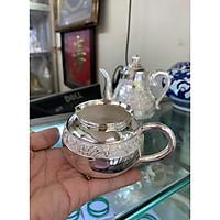 Ly uống trà bằng bạc 999 kt 10 cm