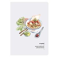 Sổ Mini Monosketch - Mì Quảng