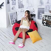 Ghế Lười Quả Bóng Lớn (Bally Beanbag) Đỏ Phối Đen MS42+MS32- The Beanbag House