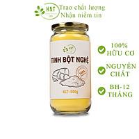 Tinh bột nghệ nhiều curcumin  HNT 500g - Đã được kiểm nghiệm an toàn chất lượng thực phẩm- dùng khi, dưỡng da, đau dạ dày