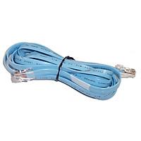 Cáp Cisco đời mới 72-1259, cáp dẹp hai đầu RJ45, dùng để cấu hình Router, Switch, Firewall Cisco - Hàng nhập khẩu