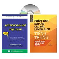 Sách - Combo: Ngữ Pháp Hán Ngữ Thực Dụng + Phân tích đáp án các bài luyện dịch Tiếng Trung + DVD tài liệu