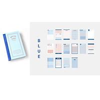 RY DIY - Sổ Tay Bỏ Túi Daily Life NoteBook 200 Trang Khổ A6 Ruột Giấy Đa Dạng Dùng Cho Văn Phòng Nhỏ Gon Tiện Dụng