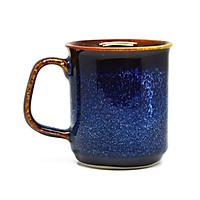 02 Cốc cà phê lớn D8H9 Đông Gia - xanh  sóng biển 8094