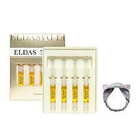 Hộp 4 ống tế bào gốc Eldas EG Tox Program Coreana 2ml x4 + Tặng Kèm 1 Băng Đô Tai Mèo (Màu Ngẫu Nhiên)