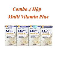 [ Combo 4 Hộp ] Viên Uống Hỗ Trợ Tăng Cân Multi Vitamin Plus