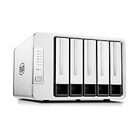 NAS TerraMaster F5-421, Intel Quad-core 1.5GHz, 6GB RAM, 410MB/s, AES NI, RAID 0, 1, 5, 6, 10 - Hàng chính hãng