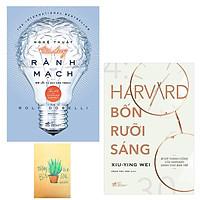 Combo Nghệ Thuật Tư Duy Rành Mạch và Harvard Bốn Rưỡi Sáng ( Tặng Kèm Sổ Tay )