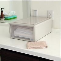 Hộp đựng đồ ngăn kéo đa năng Homestar Hando cao cấp ( Màu trắng )