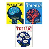 Combo 3 cuốn Tối Ưu Hóa Trí Nhớ Bằng Phương Pháp Hình Ảnh+Tối Ưu Hóa Trí Thông Minh+ Tăng Cường Trí Lực Tặng Bookmath Kẽm