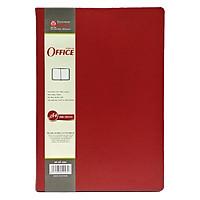 Sổ Hồng Hà Office A4 4584 - 200 Trang - 21x30 cm - Mẫu 1 - Màu Đỏ